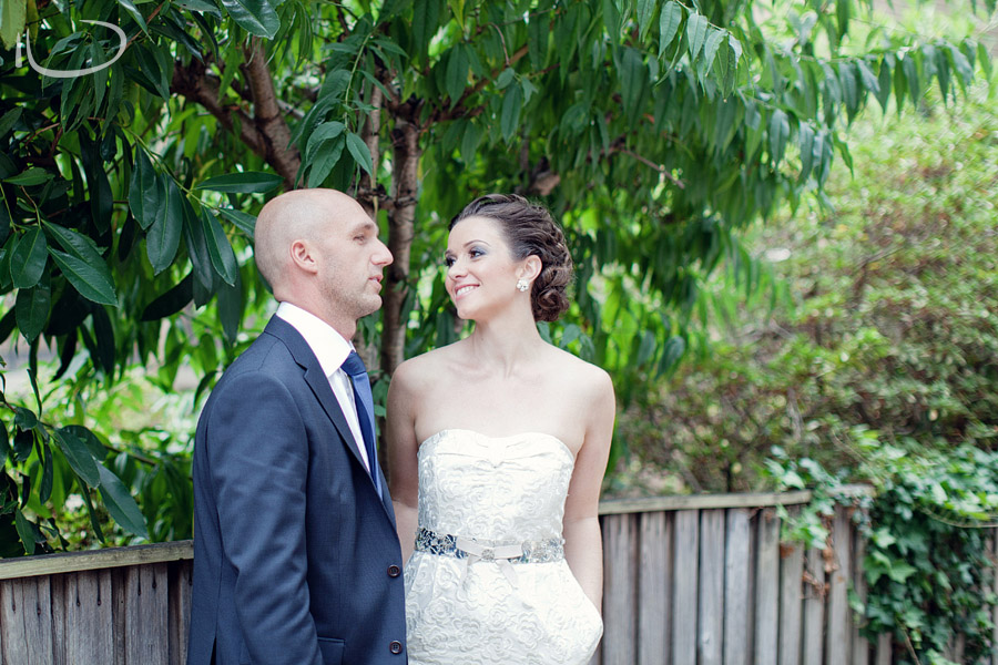 Romantic Wedding Photographer: First look