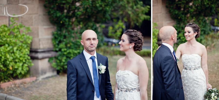 The Rocks Wedding Photographers: Bride & Groom after ceremony