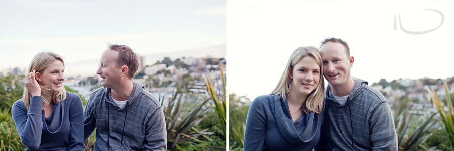 Lavendar Bay Engagement Photographer: Engaged couple portraits