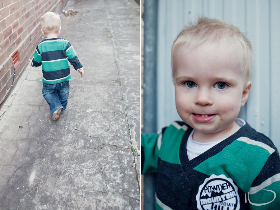 Mona Vale Baby Photographer: Toddler running