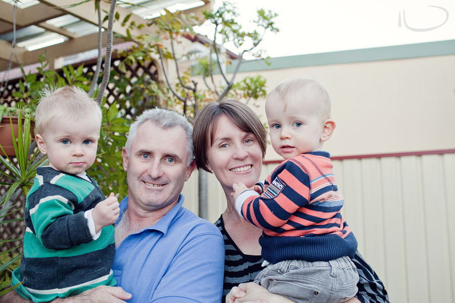 Sydney Family Photographer: Mum, Dad & Twins