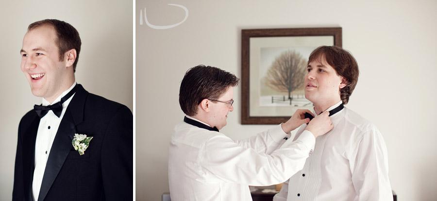 Newcastle Wedding Photographer: Groom & Groomsmen getting ready