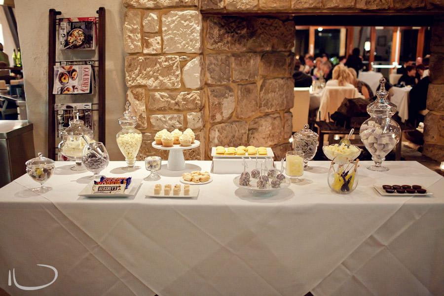 Pokolbin Wedding Photographer: Dessert Bar