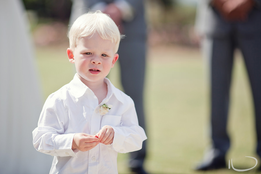 Botanic Gardens Wedding Photographer: Bride & Groom's son