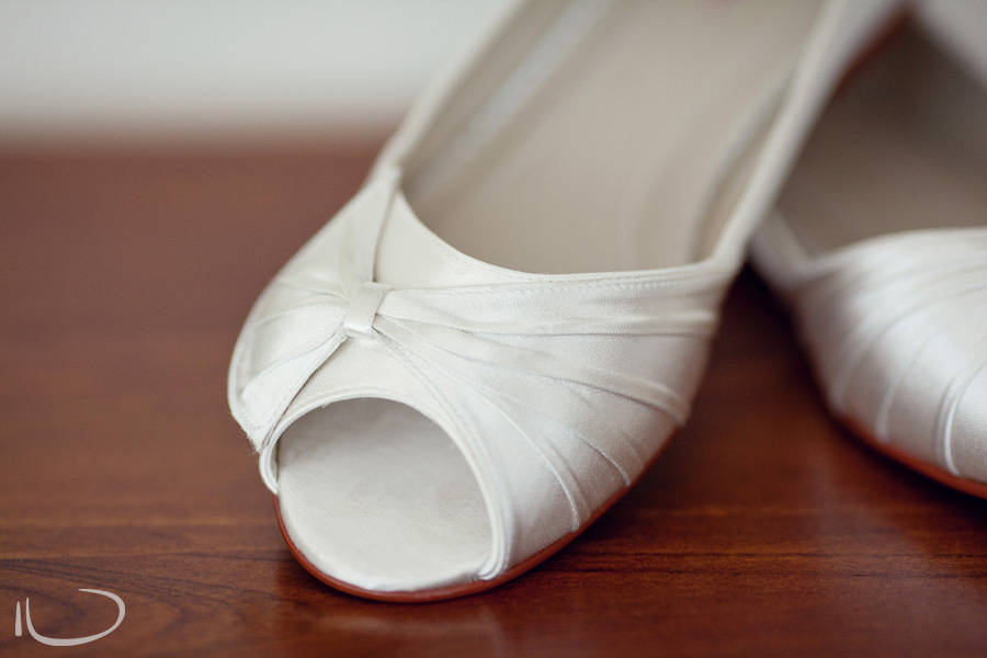Cronulla Wedding Photographer: Bride's shoes