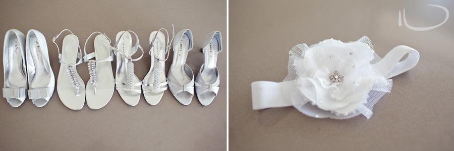 Cronulla Wedding Photographer: Bridesmaids shoes & garter