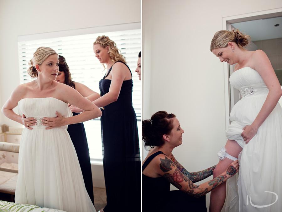 Cronulla Wedding Photographer: Bride getting ready