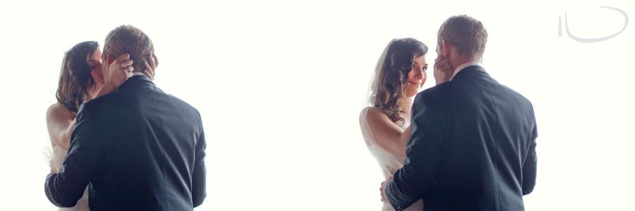 Gunners Barracks Wedding Photographer: First kiss