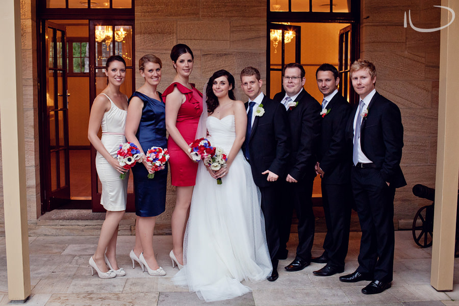 Gunners Barracks Wedding Photographer: Bridal party