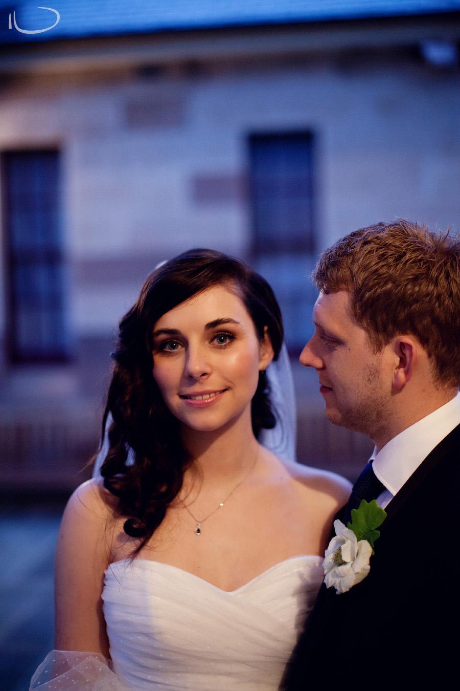 Gunners Barracks Wedding Photographer: Groom looking at bride