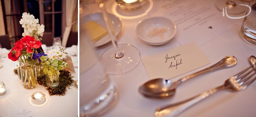 Gunners Barracks Wedding Photographer: Wedding table setting