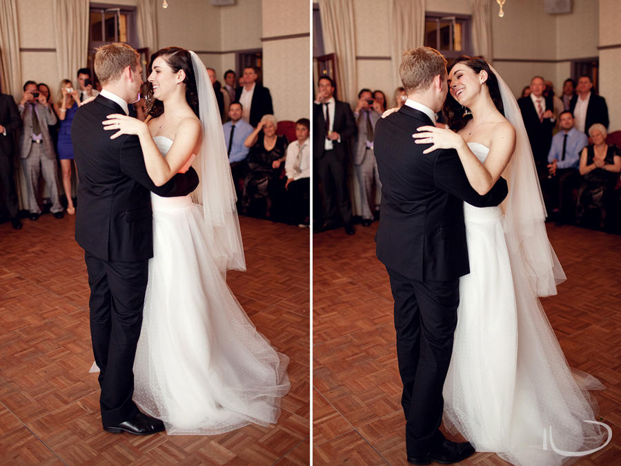 Gunners Barracks Wedding Photographer: Bridal waltz