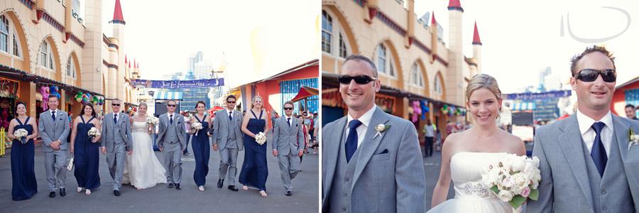 Luna Park Wedding Photographer: Bridal party