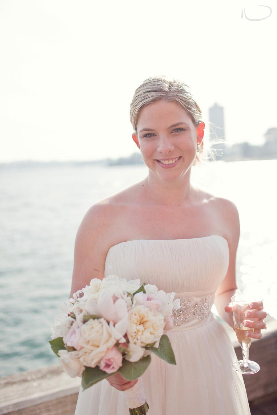 Milsons Point Wedding Photographer: Bridal portrait