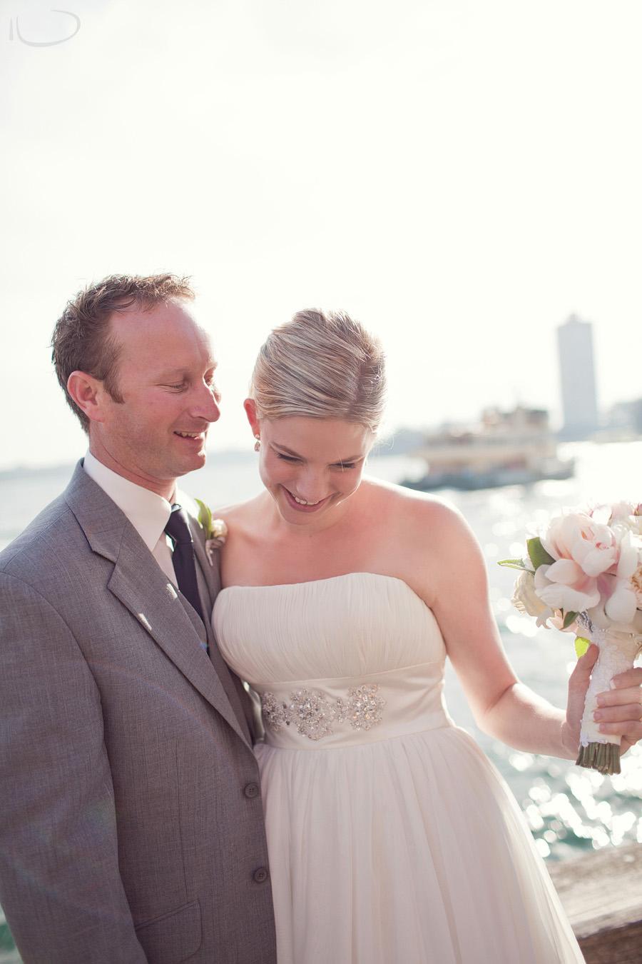 Milsons Point Wedding Photographer: Bride & Groom portrait