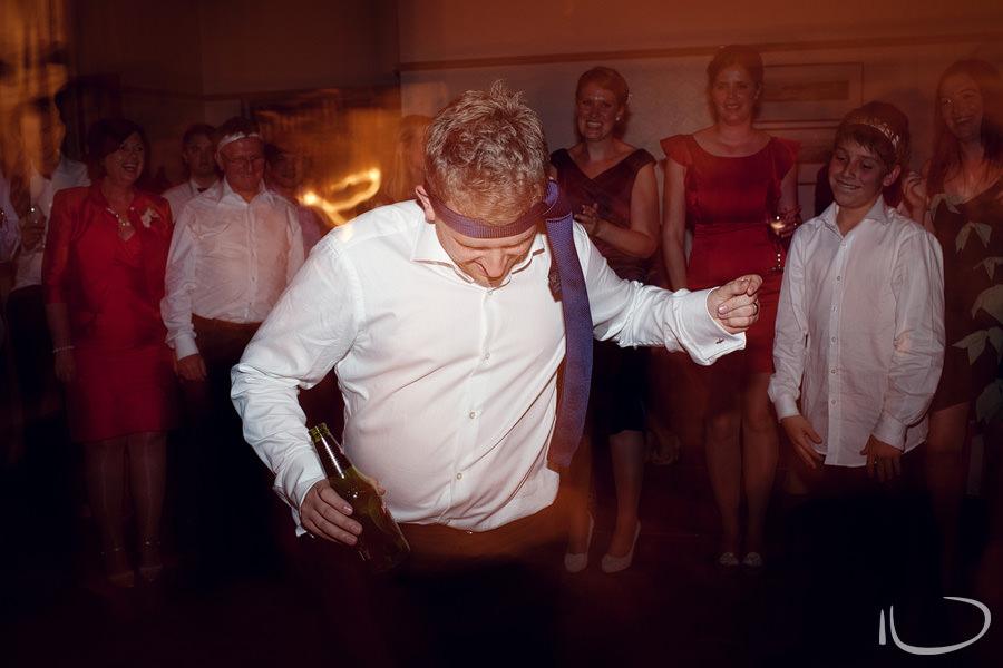 Mosman Wedding Photographer: Groom dancing