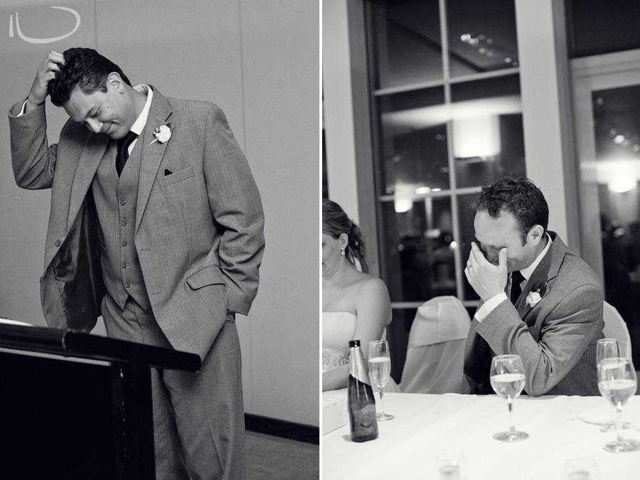 North Sydney Wedding Photographer: Best Man speech & speech reaction
