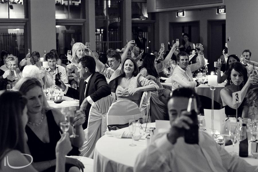 North Sydney Wedding Photographer: Wedding toast