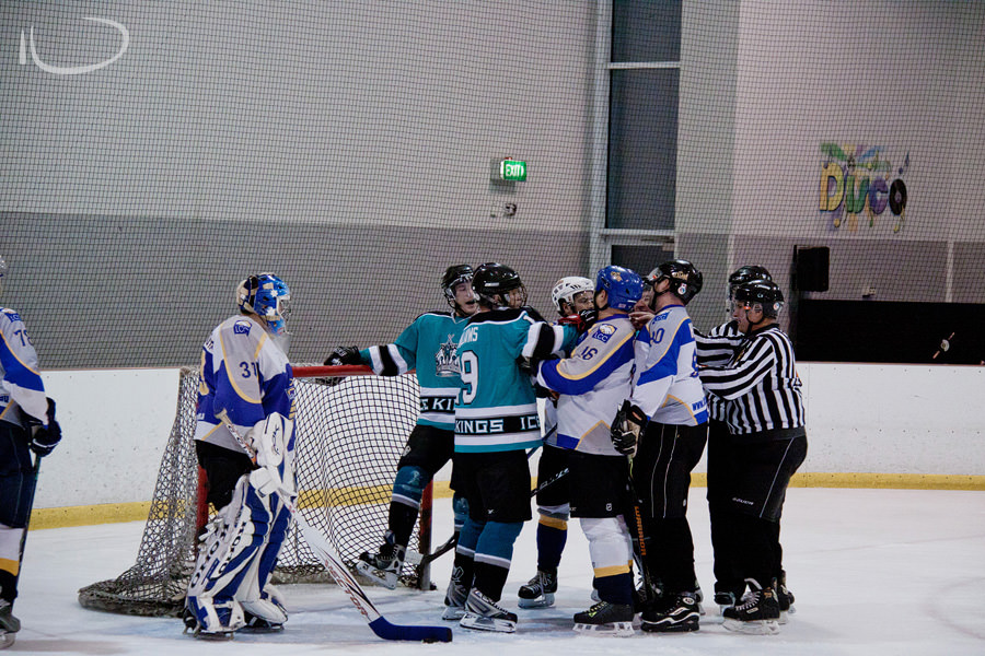 Sydney Ice Hockey Photographer: Fight