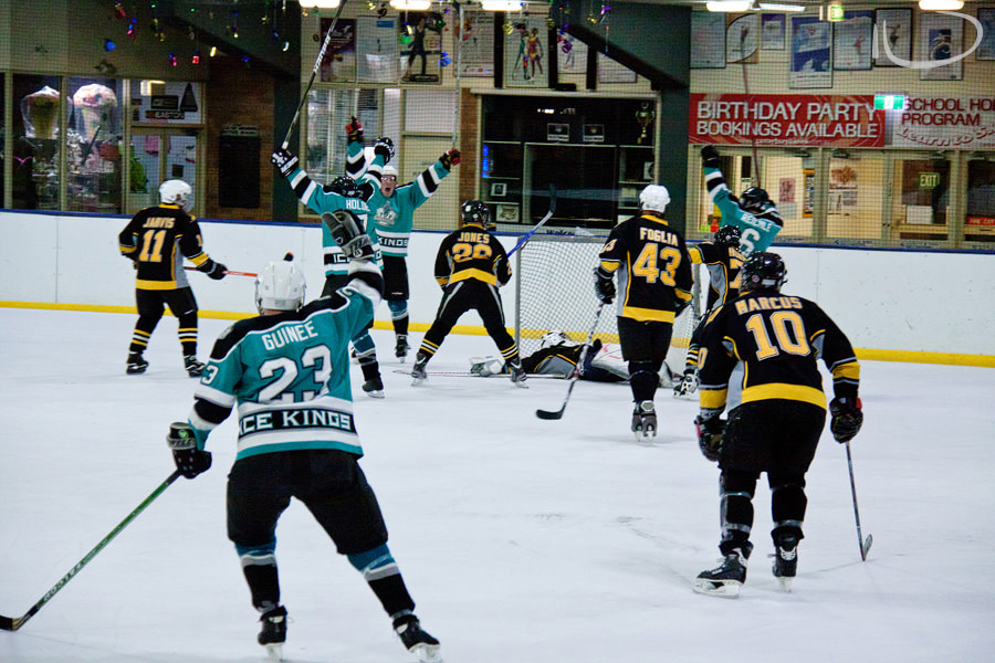 Sydney Ice Hockey Photographer: Semi Final Goal