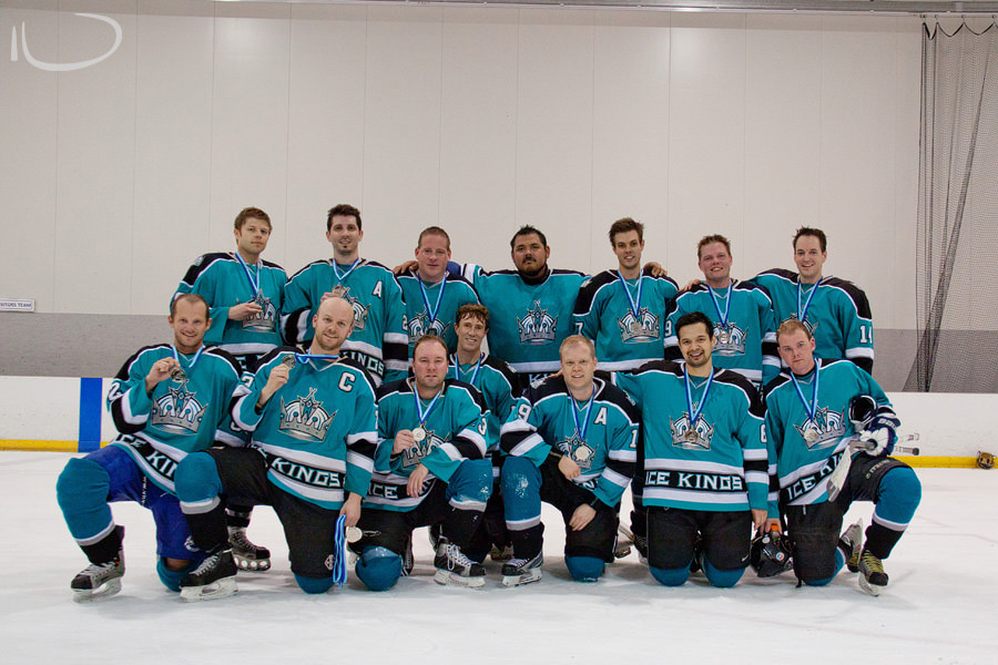 Sydney Ice Hockey Photographer: Silver Medalists