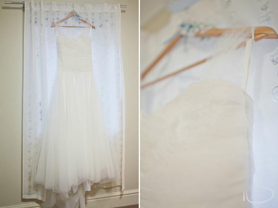 Sydney Wedding Photographer: Dress hanging up