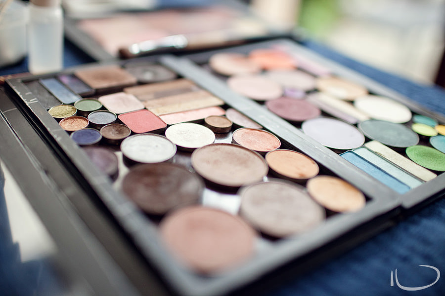 Sydney Wedding Photographer: Makeup palette