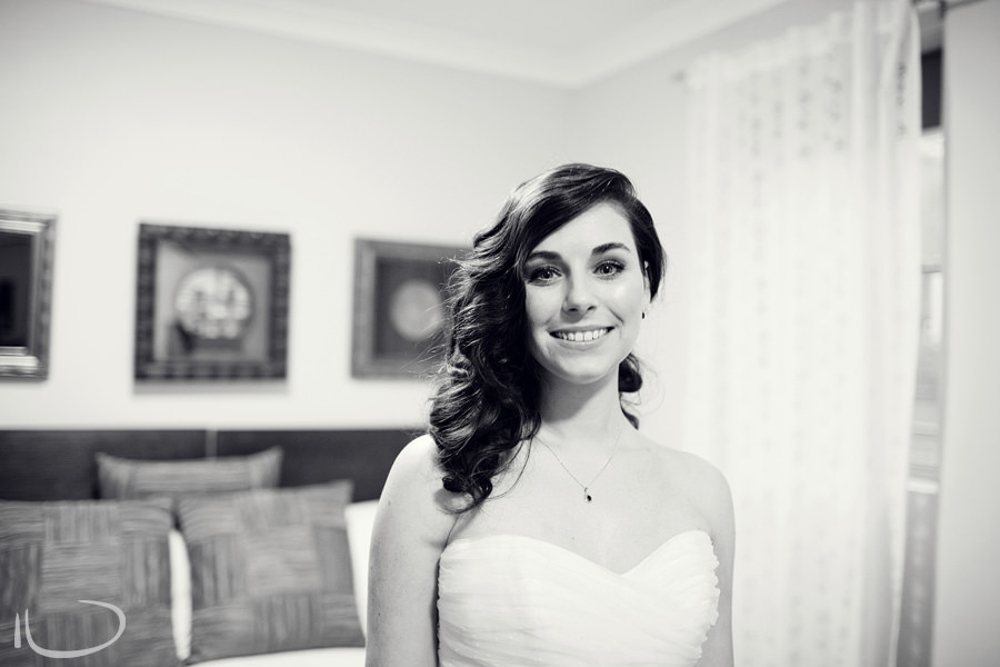 Sydney Wedding Photographer: Bride dressed ready to go