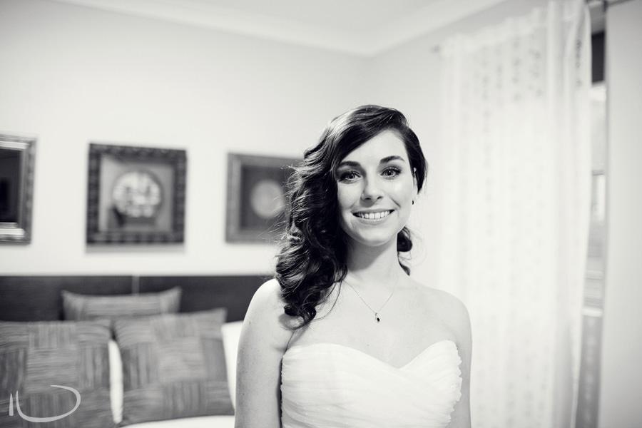 Sydney Wedding Photographer: Bride dressed ready to go