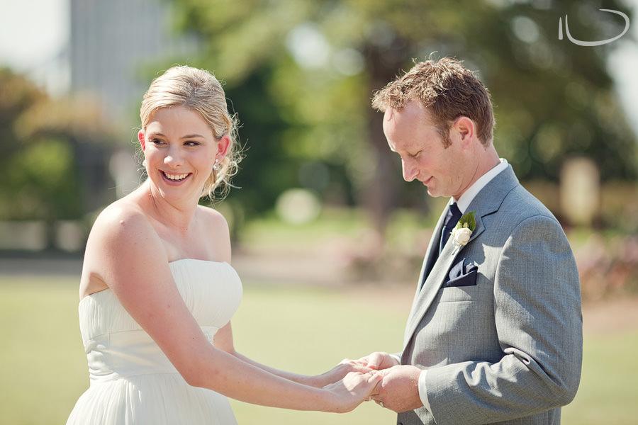 Sydney Wedding Photographer: Bride & Groom during ceremony