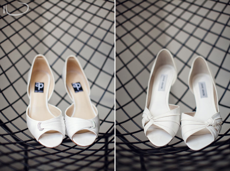 Realm Hotel Wedding Photographer: Bride & Bridesmaid shoes