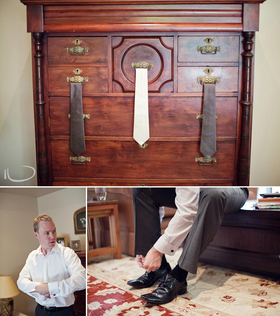 Canberra Wedding Photographer: Groom getting ready