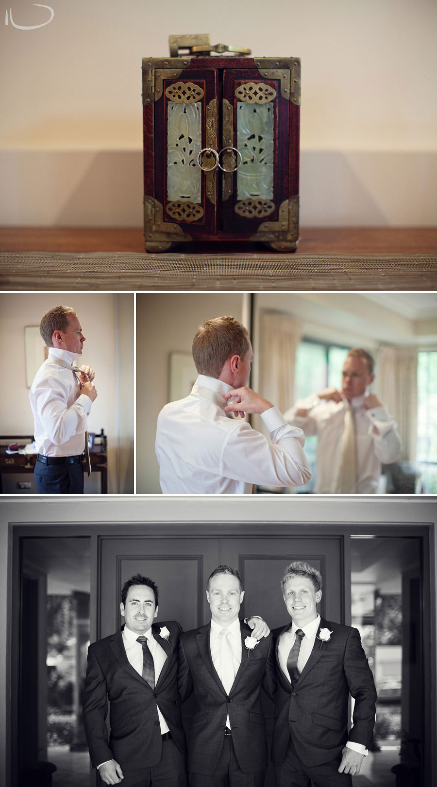 Canberra Wedding Photographer: Groom getting ready