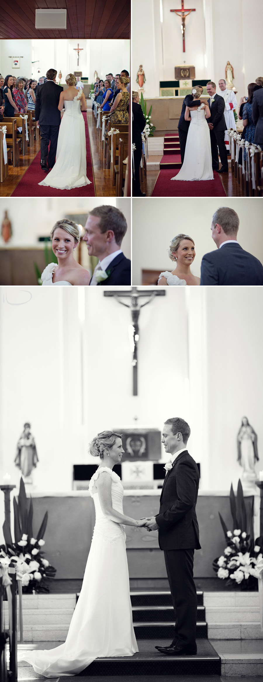 Duntroon Chapel Wedding Photographer: Ceremony