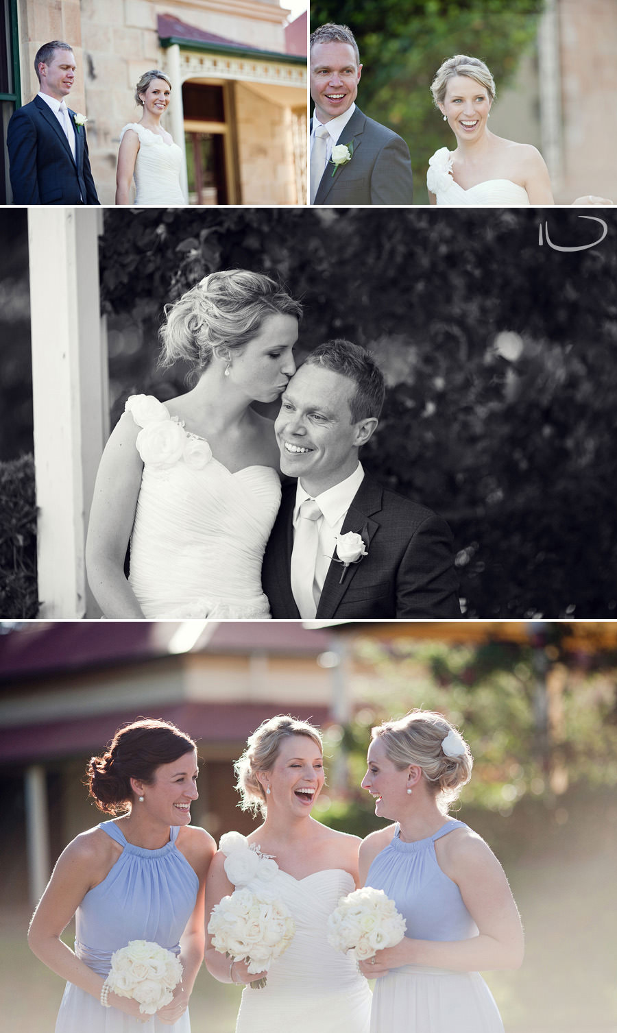 Duntroon Wedding Photographer: Bride & bridesmaids
