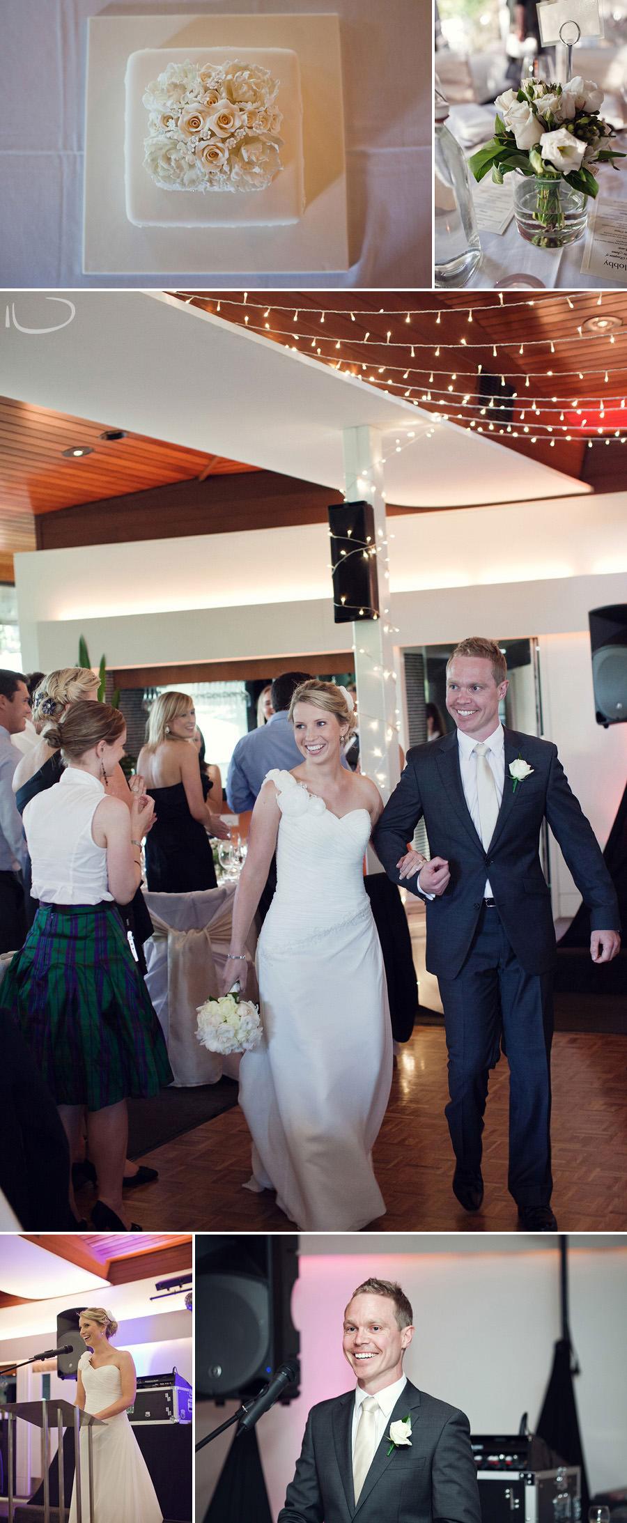 The Lobby Wedding Photographer: Bride & Groom entering reception