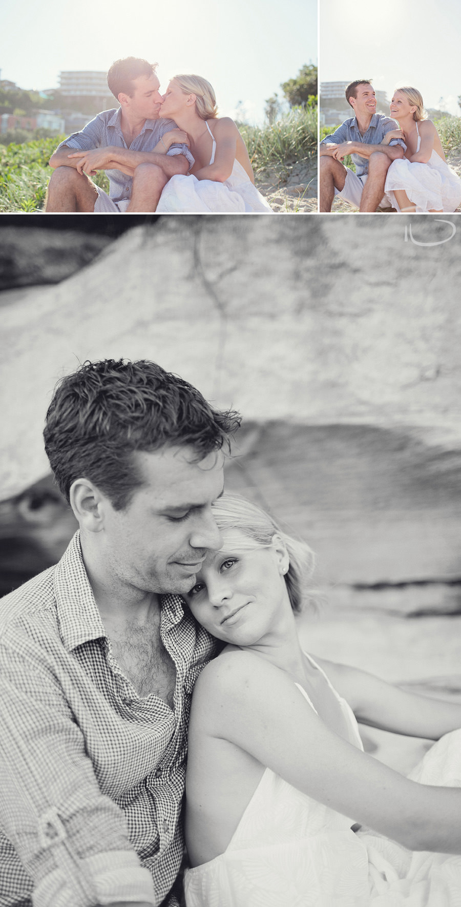 Northern Beaches Wedding Photographers: Couple portrait