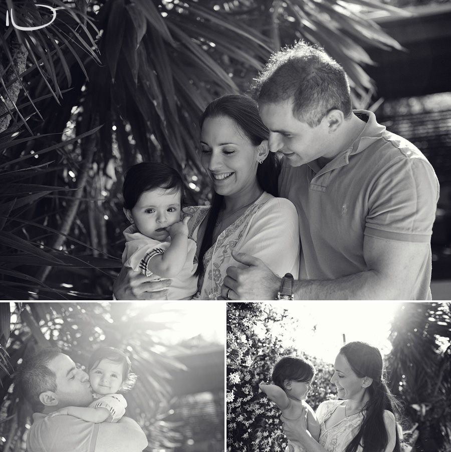 Sydney Family Photographer: Parents with Baby