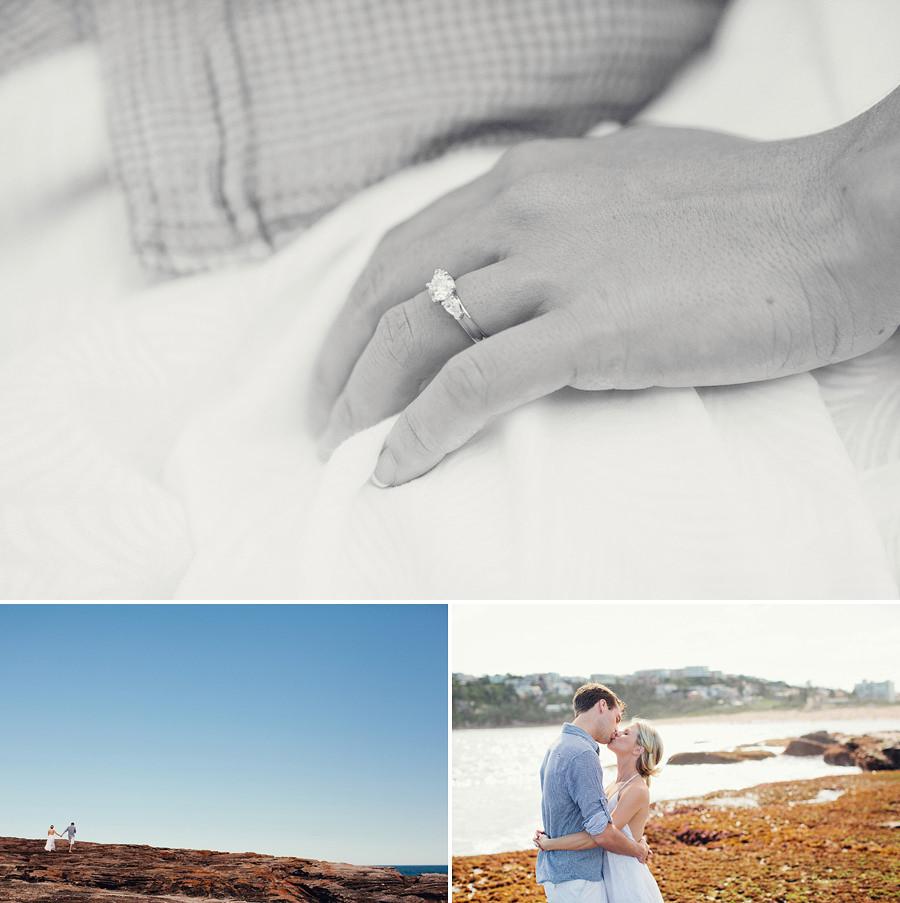Sydney Wedding Photographer: Beach engagement session