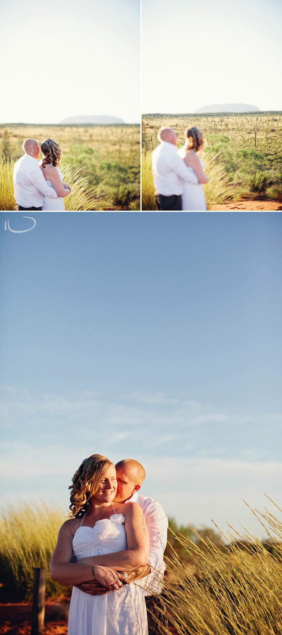 Alice Springs Wedding Photographers: Desert portraits