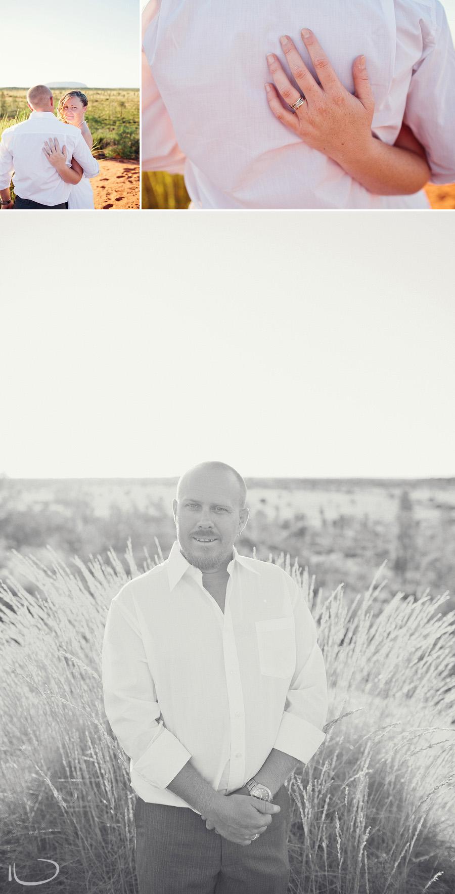 Alice Springs Wedding Photography: Groom portrait