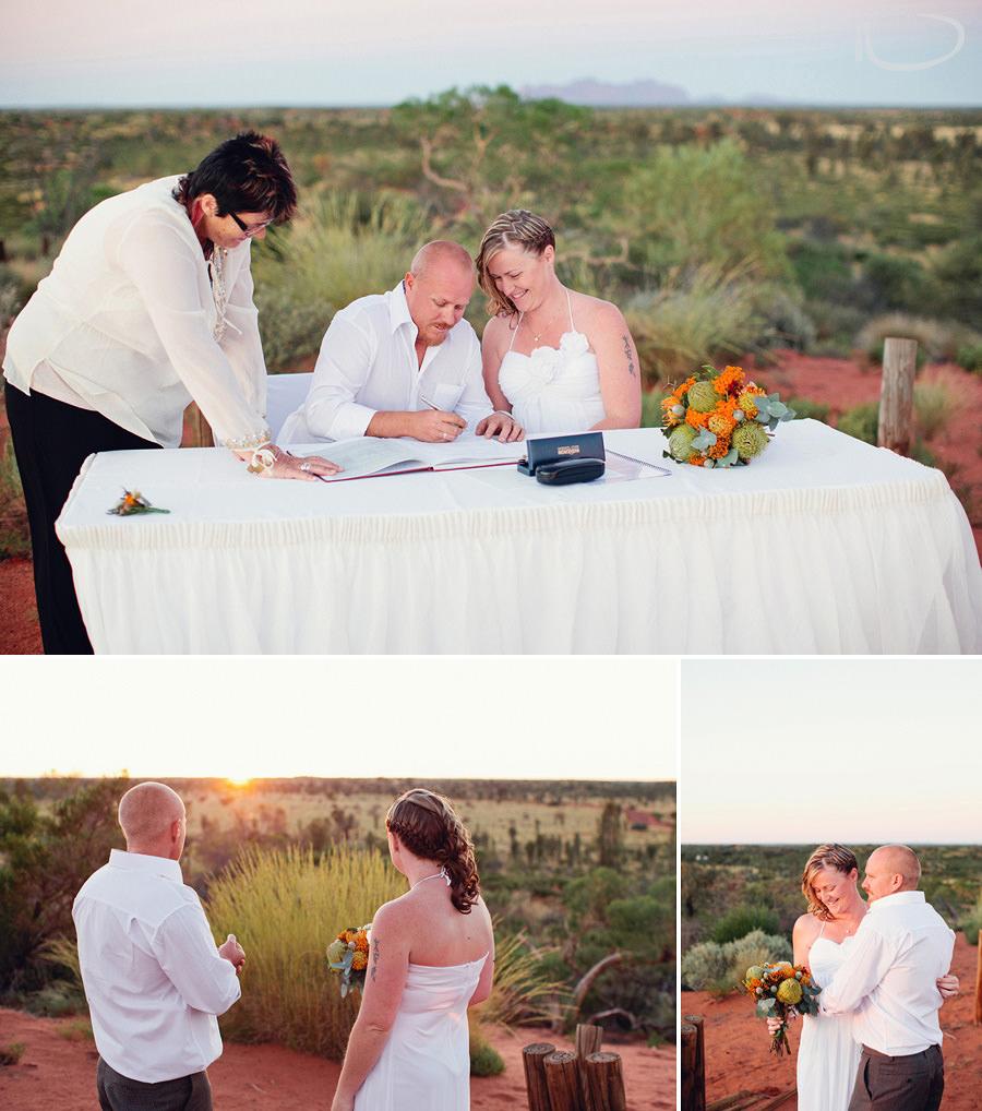 Australian Wedding Photographer: Sunrise ceremony