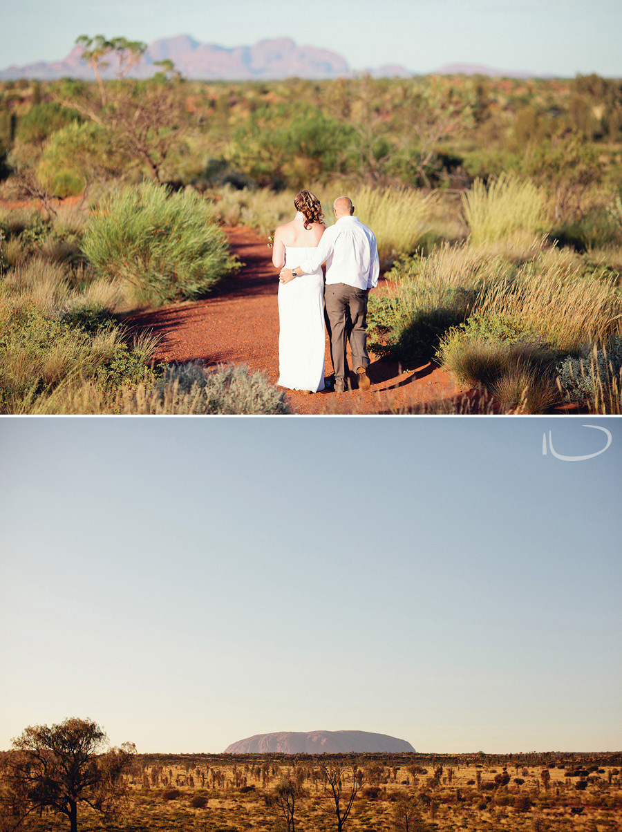 Elopement Photographer: Bride & Groom walking down the aisle