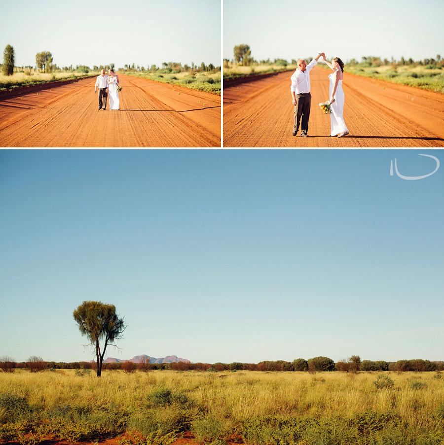 Elopement Photography: Australian Desert wedding