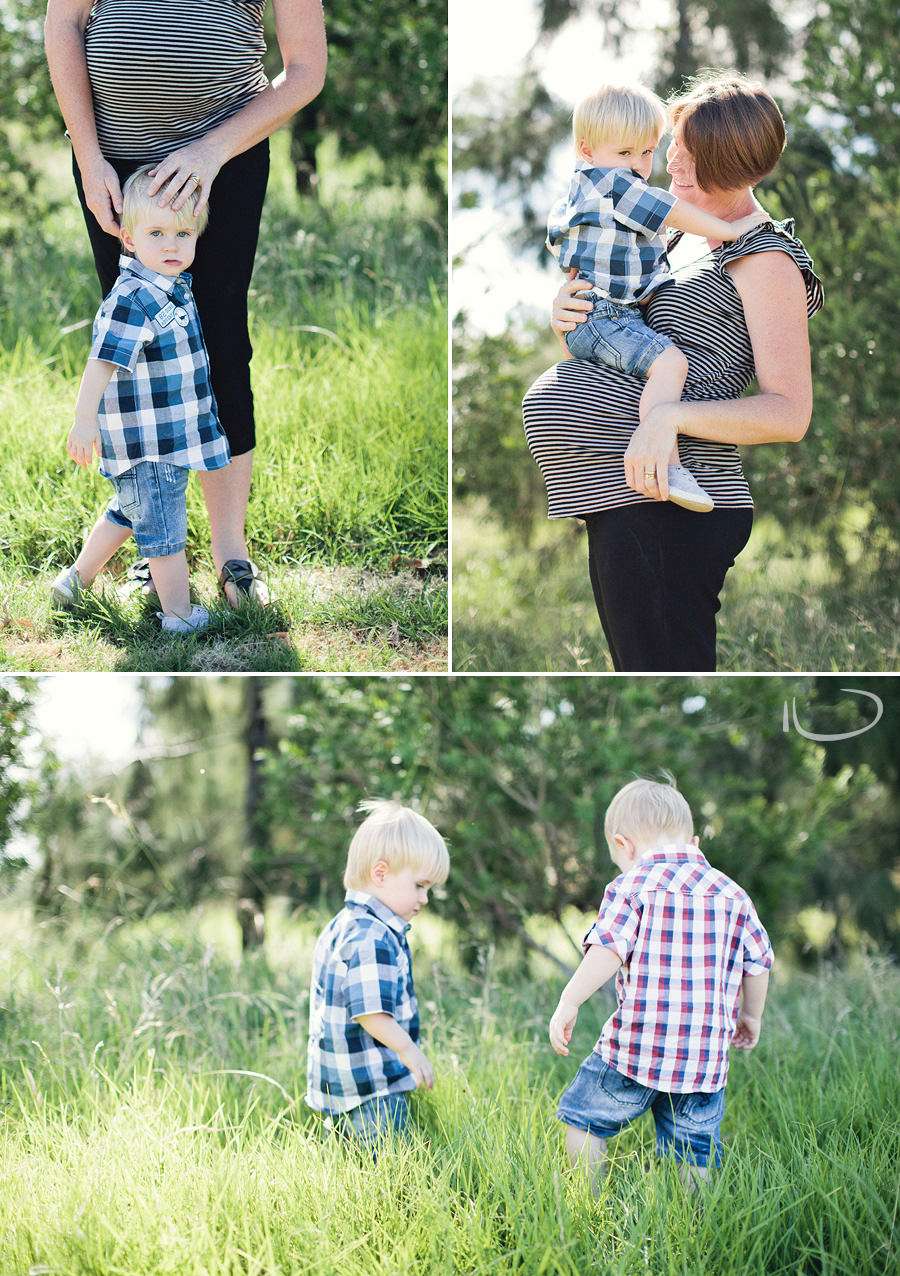 Sydney Maternity Photographers: Michelle, Charlie & Digby