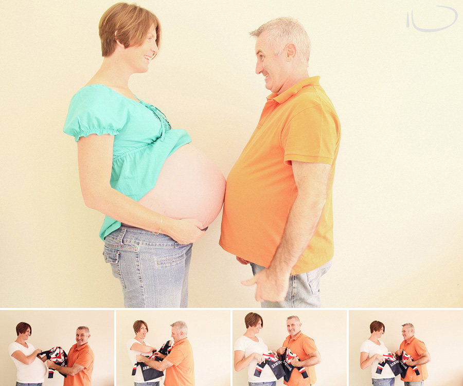 Sydney Pregnancy Photography: Comparing bumps