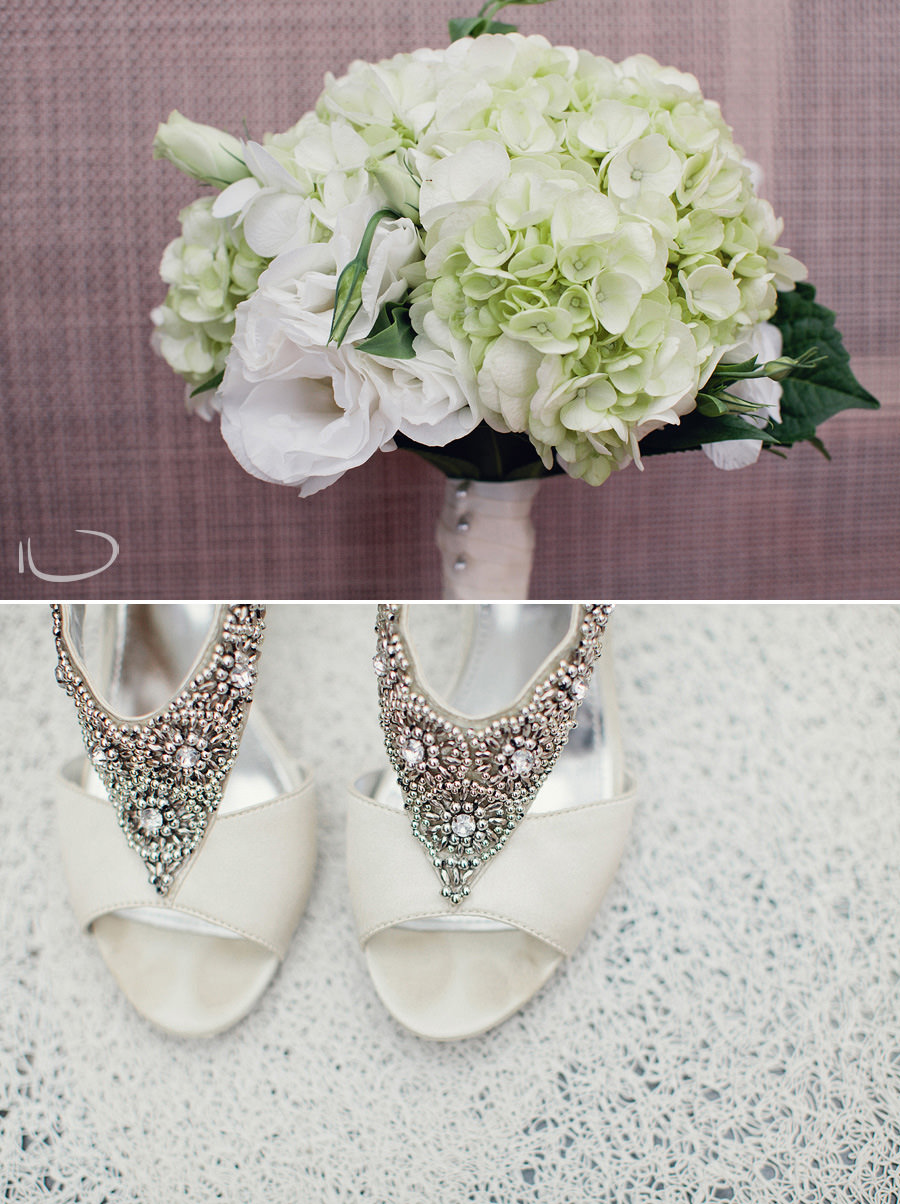 Canberra Wedding Photographer: Bouquet & Bridal shoes