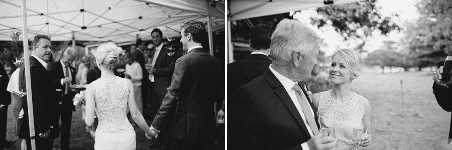 Clonnys Wedding Photographer: Bride & Groom entering reception