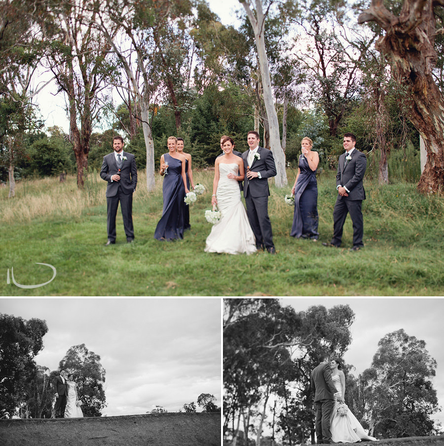 Federal Golf Club Wedding Photographer: Bridal party group portrait
