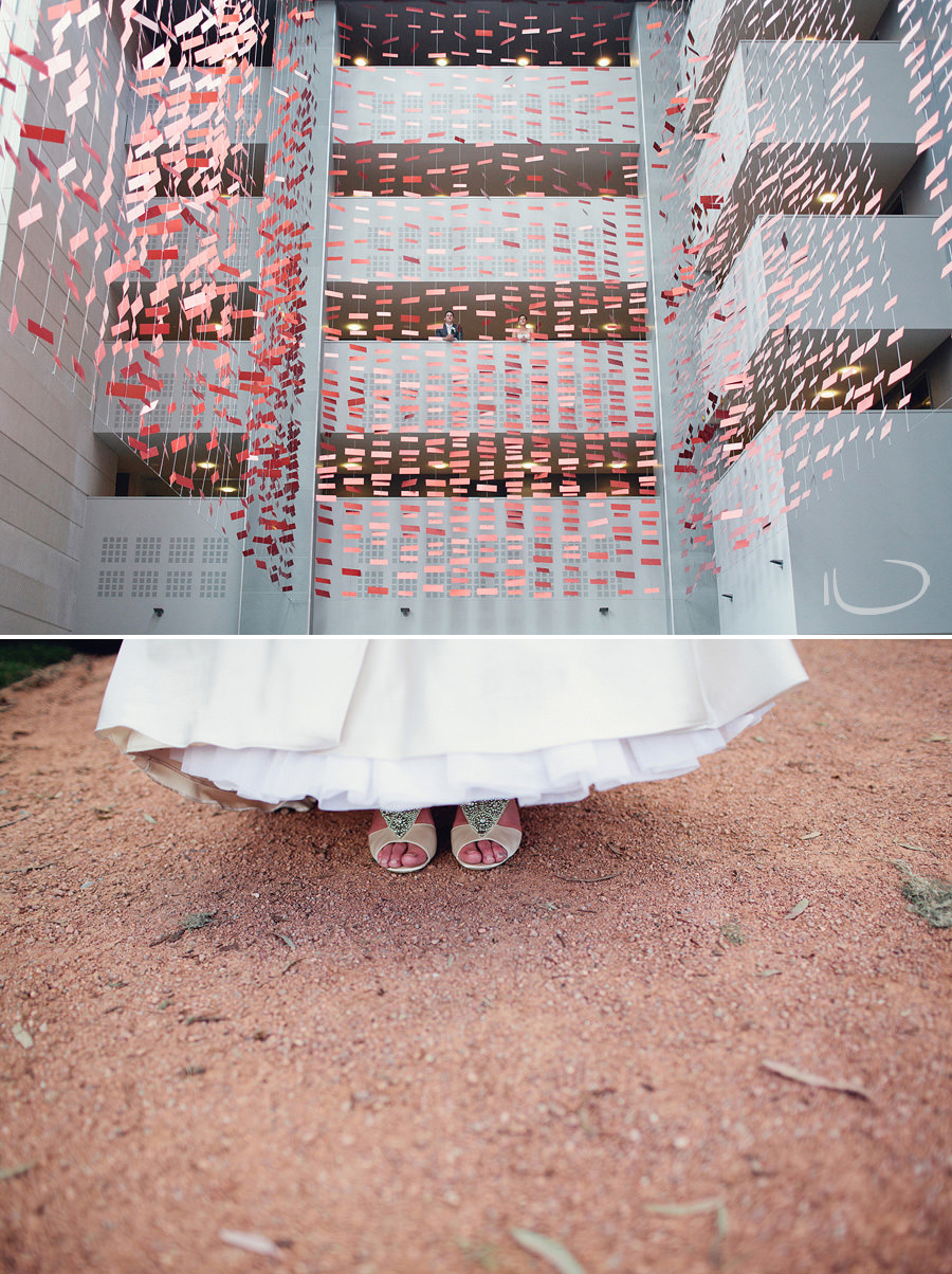 Hotel Realm Wedding Photographer: Modern bridal portrait